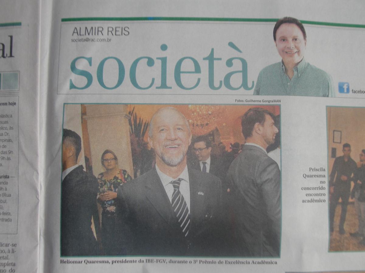 3 Prêmio De Excelência Acadêmica Palestrante De Vendas